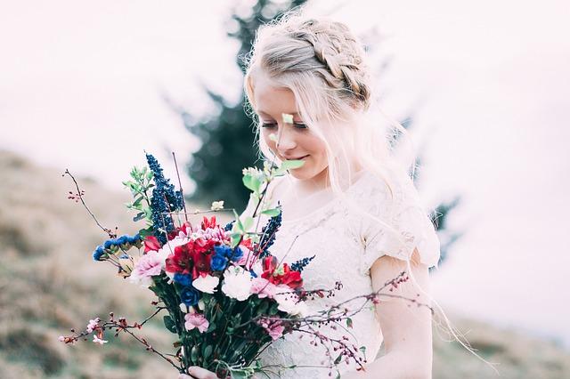 Brautstrauß natürlich